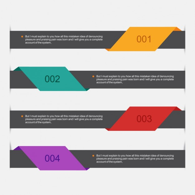 Set of banners  Vector | Free Download