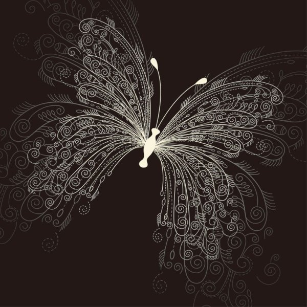 Set of Butterfly vector 01