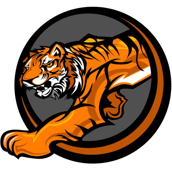 Set of Tiger vector picture art 22