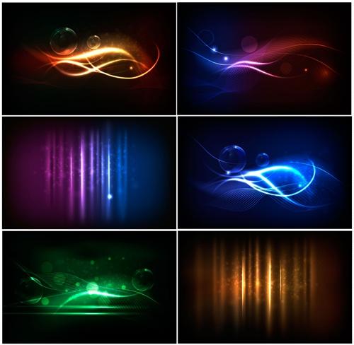 Shiny Neon background art 05