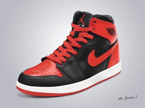 Shoe nike psd template