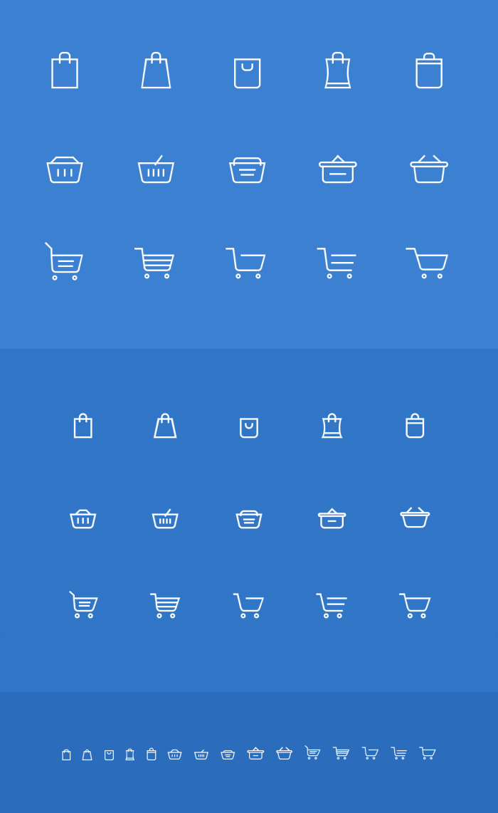 Shopping Cart Icons | IconStore