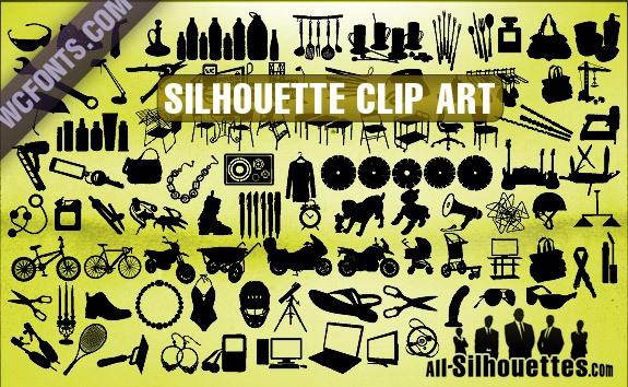 Silhouette Clip Art – All-Silhouettes