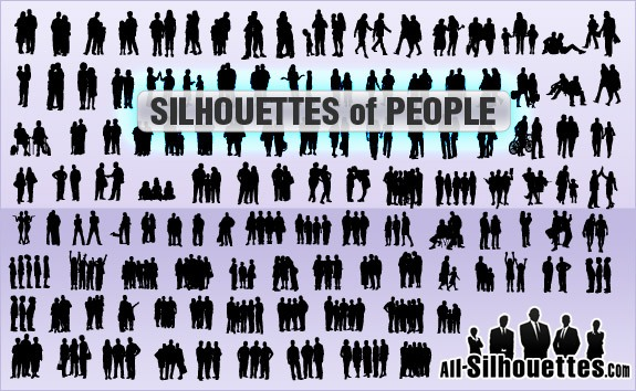 Silhouettes of people – All-Silhouettes