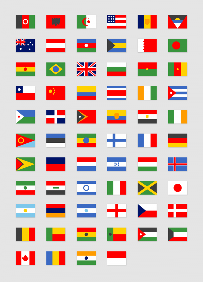 Simple Flags #1 | IconStore