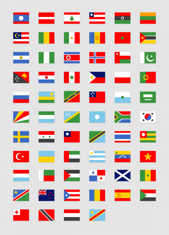 Simple Flags #2 | IconStore