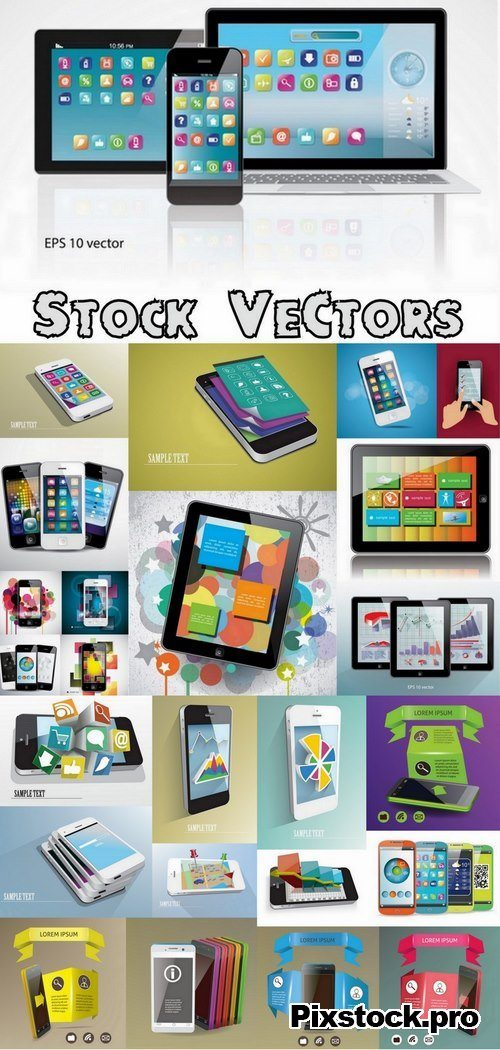 Smartphone and tablet – 25 Eps