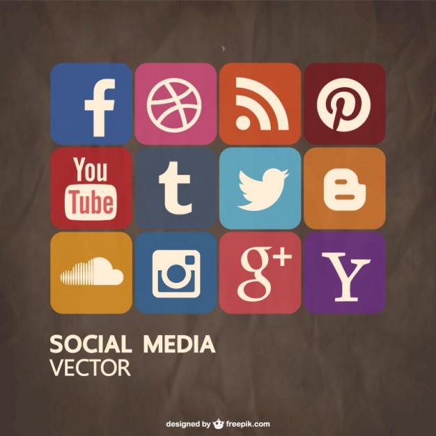 Social media free vector   Vector | Free Download
