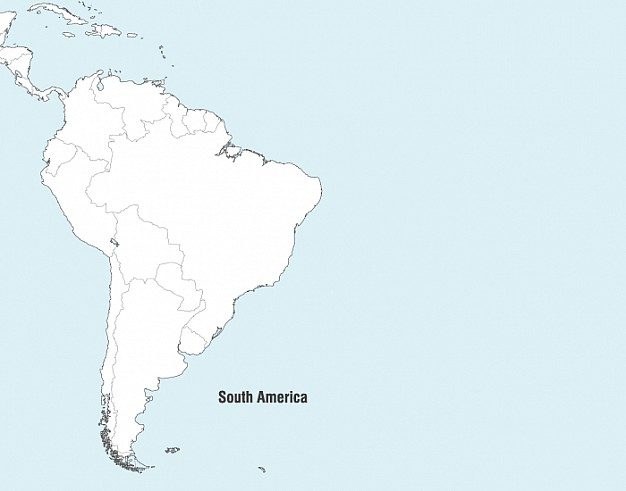 South America Map Vector   Vector | Free Download