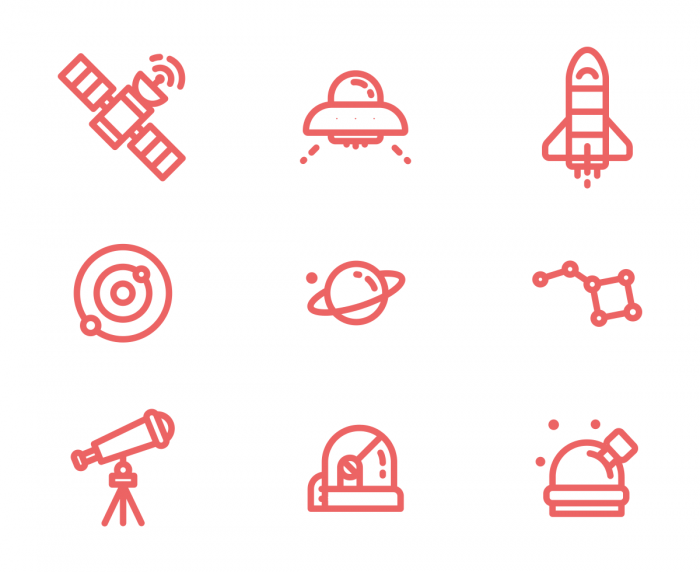 Space Icons #1 | IconStore