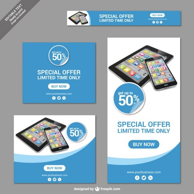 Special offer banners  Vector   Free Download