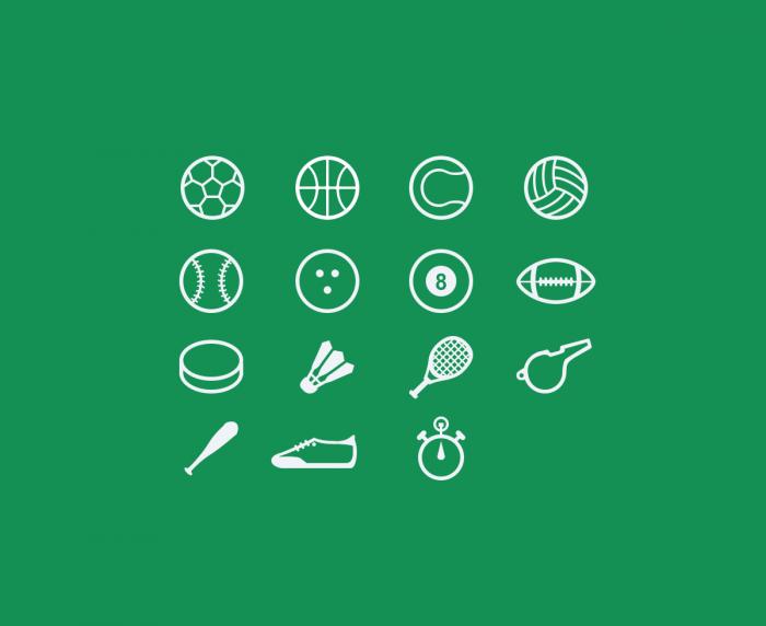 Sport Icons Freebie | IconStore