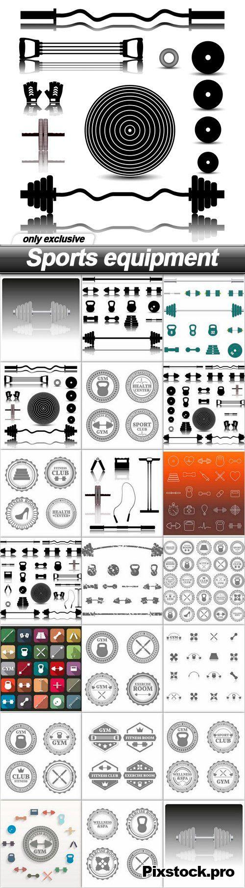 Sports equipment – 20 EPS