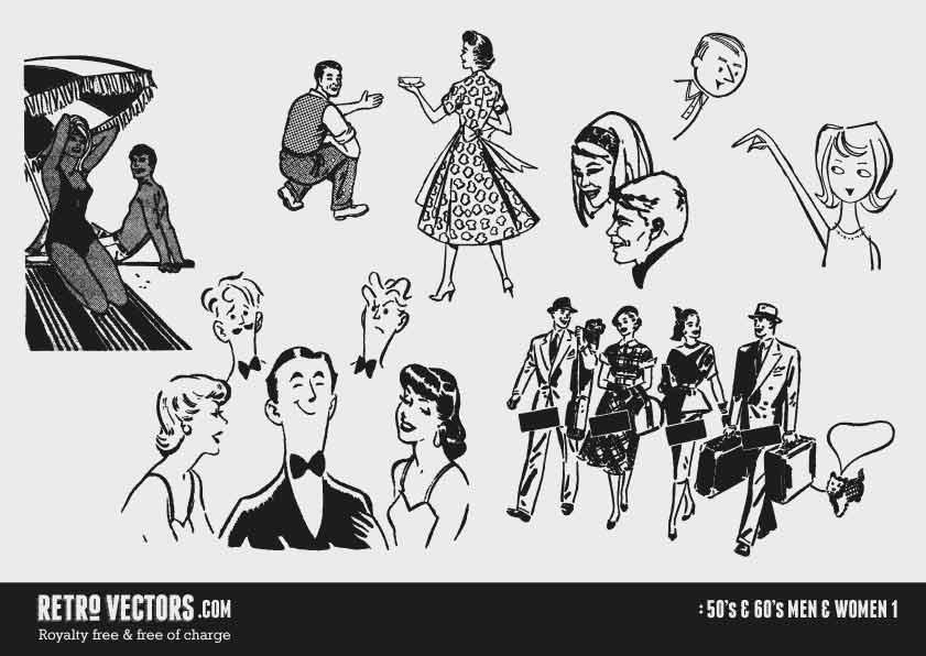 50s/60s Men & Women 1