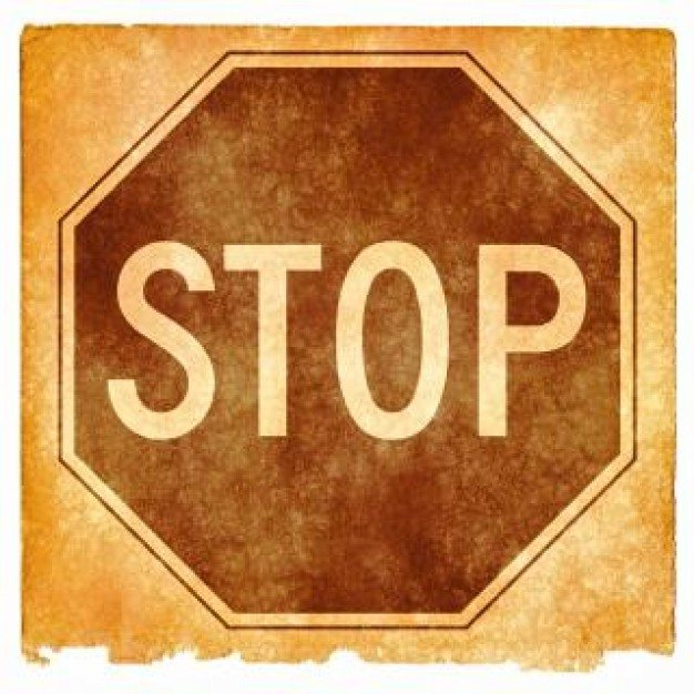 stop sign grunge  texture  Photo | Free Download
