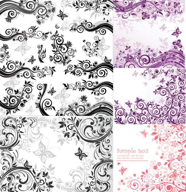 stylish decorative pattern background