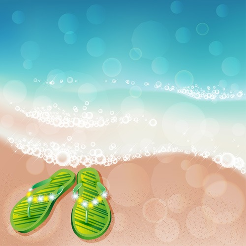 Summer sea background art 04