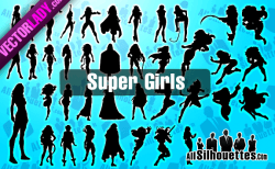 Super Girls – All-Silhouettes