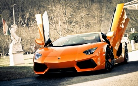 Super Lamborghini Aventador Car Wallpapers | HD Wallpapers