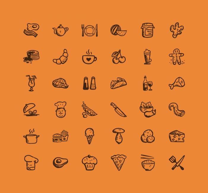 Tasty Icons Free | IconStore