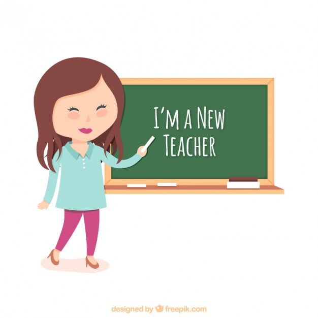 Teacher illustration
