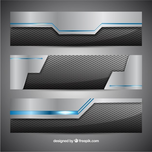 Technological banners  Vector | Free Download