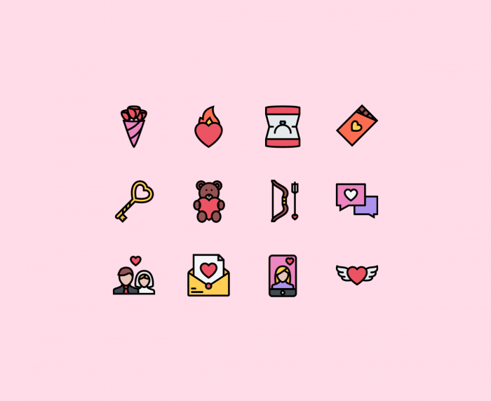 The Love Icons | IconStore