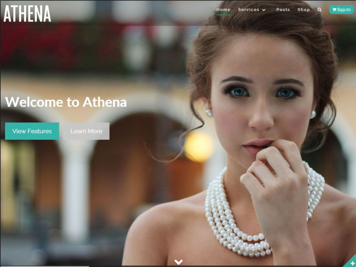 Athena WordPress Free Themes