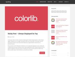 Sparkling WordPress Free Themes