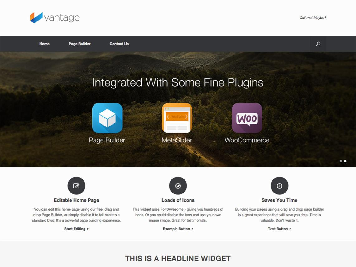Vantage WordPress Themes