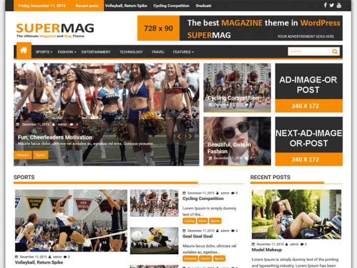 SuperMag WordPress Themes