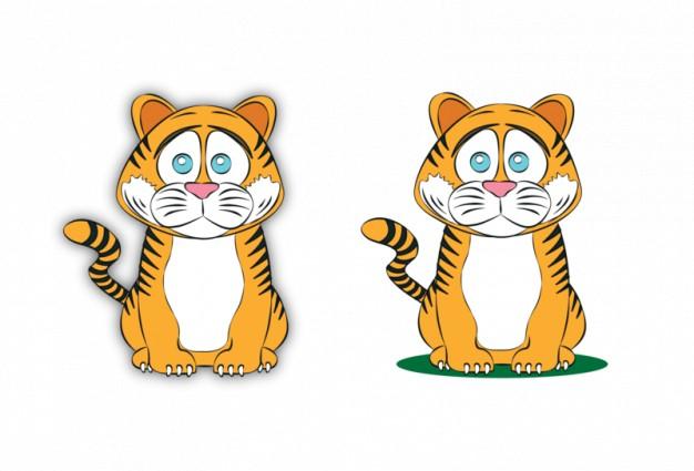 tiger sad