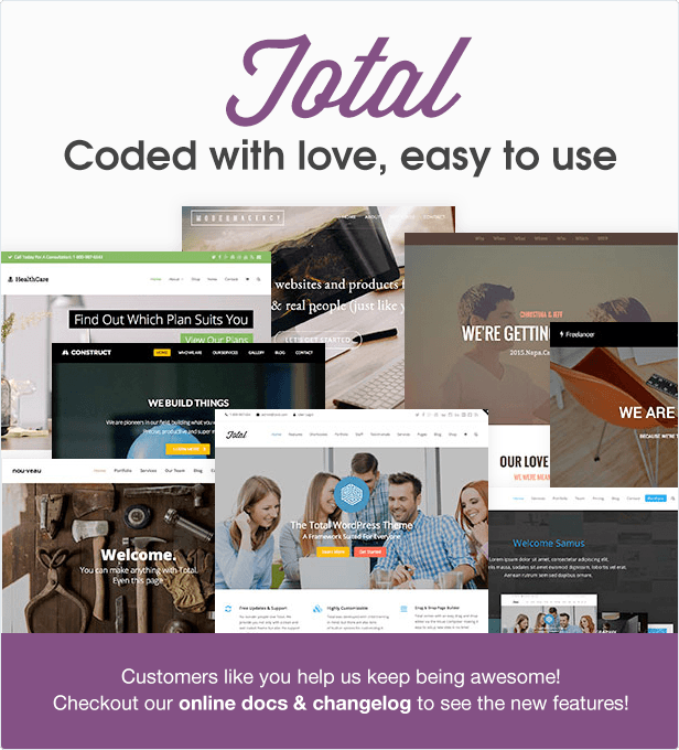 Total – Responsive Multi-Purpose WordPress Theme – WordPress