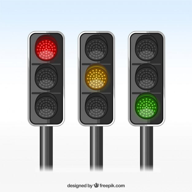 Traffic lights  Vector | Free Download
