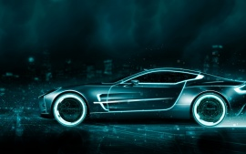 Tron Aston Martin Wallpapers | HD Wallpapers