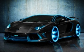 TRON Lamborghini Aventador Wallpapers | HD Wallpapers