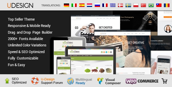 uDesign – Responsive WordPress Theme – WordPress | ThemeForest