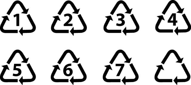 Universal Plastic Recycling Symbols | Signs & Symbols