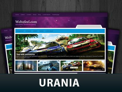 Urania WordPress Themes