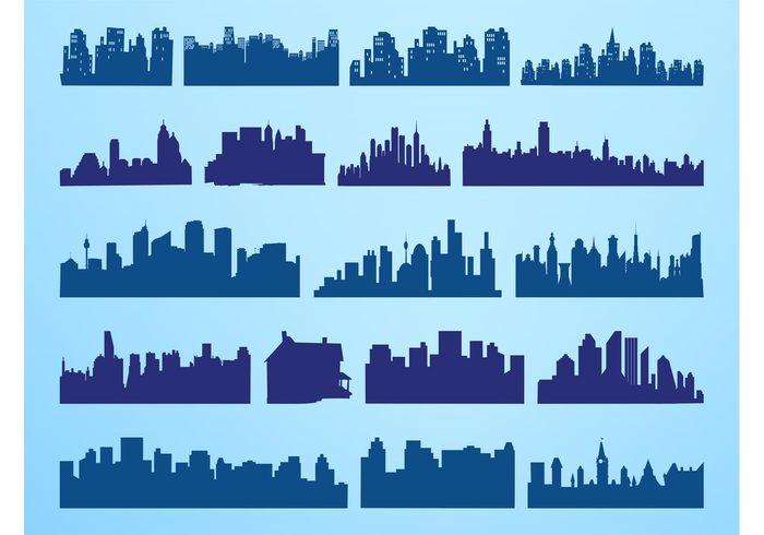 Urban Skylines Set