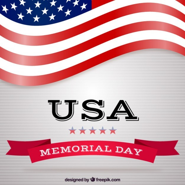 USA memorial day background
