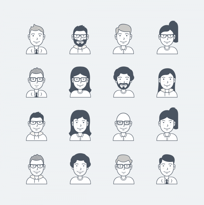 Users Insights Free Icon Pack | IconStore