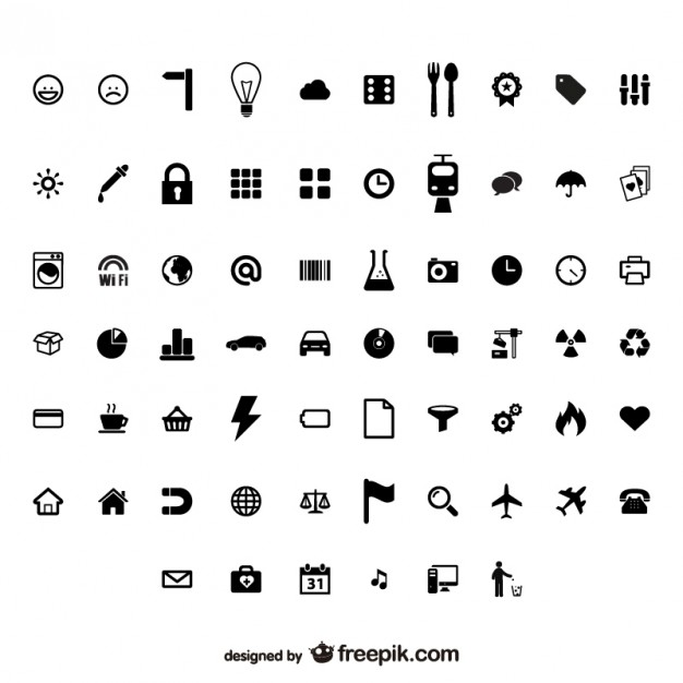 utility identifies small icon vector material  Vector | Free Download