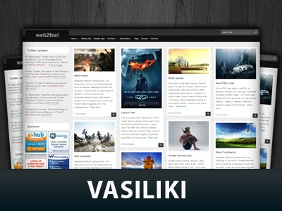 Vasiliki  WordPress Themes