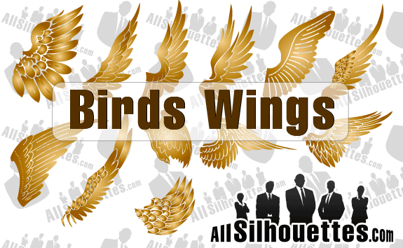 Vector Birds Wings – All-Silhouettes