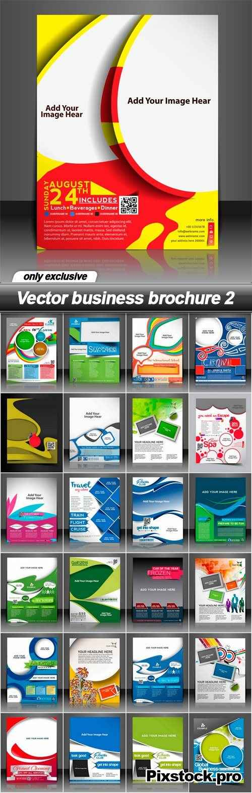 Vector business brochure 2 – 25 EPS