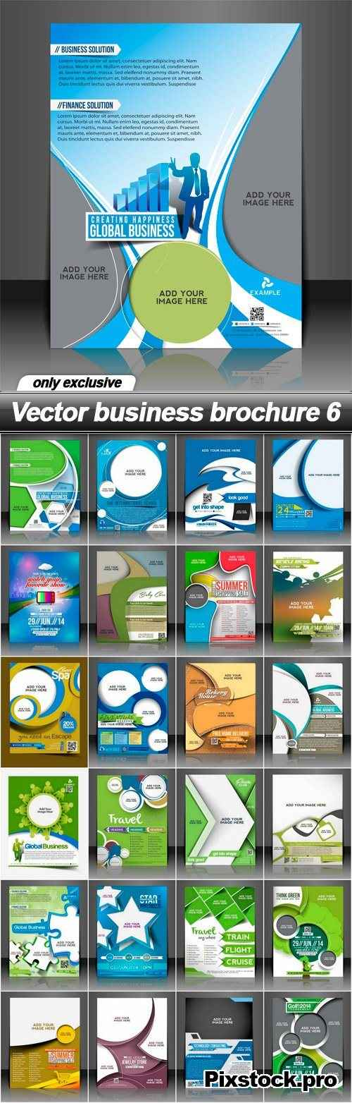 Vector business brochure 6 – 25 EPS