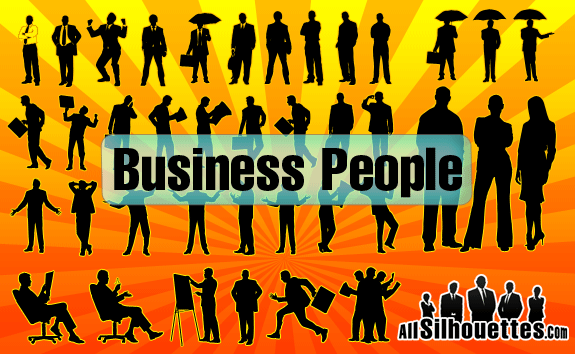 Vector Business People – All-Silhouettes
