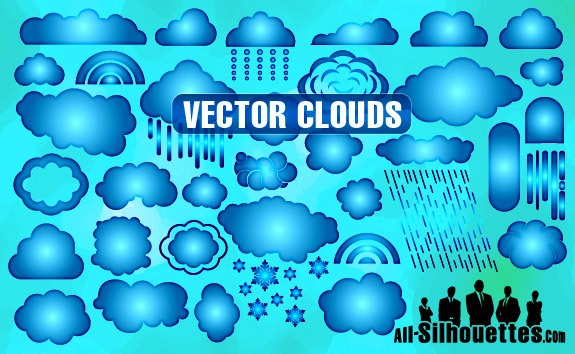Vector Clouds – All-Silhouettes