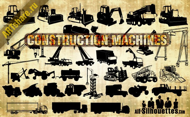 Vector Construction Machines